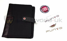 Fiat Punto Evo Owners Manual, Service Schedule Stamp Blue&Me Book Pack + Wallet