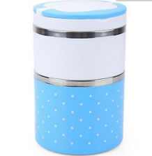 Stainless Steel Insulation Thermo Thermal Bento Lunch Box Sealed Food Container