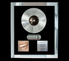 ALANIS MORRISETTE FORMER  MULTI (GOLD) CD PLATINUM DISC FREE SHIPPING TO U.K.