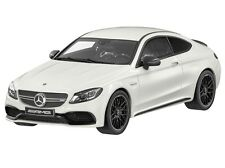 Mercedes-Benz C 63 S AMG designo diamantweiß bright Limited Edition 1:18