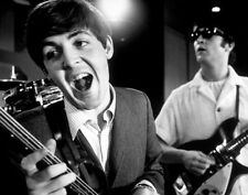 The Beatles Paul McCartney and John Lennon 1964 Print 14 x 11""