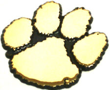 All Metal Clemson Paw Gold Auto Emblem
