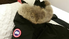 "2017 ""LATEST CONCEPT"" RED LABEL BLACK CANADA GOOSE VICTORIA LARGE PARKA JACKET"
