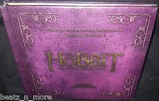 THE HOBBIT THE DESOLATION OF SMAUG DELUXE EDITION SOUNDTRACK (2012) NEW 2CD