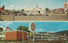 Covey's New America Motel and Coffee Shop in Salt Lake City UT Postcard