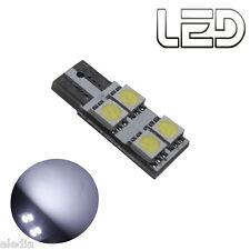 1 Ampoule 4 LED W5W T10 habitacle plafonnier interieur lumiere Blanche