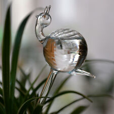 Glass Self Watering Durable Transparent Plant Watering snail shape glass globe