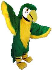 Green Parrot Professional Quality Lightweight Mascot Costume