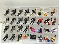 DISPLAY / Carrying Case - Perfect For LEGO Batman Movie Holds 32 Minifigures!