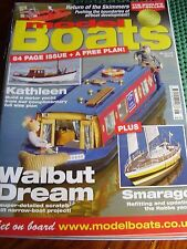 MODEL BOATS AUG 2012 KATHLEEN YACHT PLAN CRUISE SHIP FRANCE TURTLE SHIP WALBUT