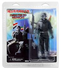 "NECA Iron Maiden Eddie 2 Minuti a Mezzanotte Vestito 8"" Action Figure Retro Doll"
