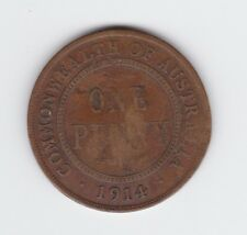 1914 Penny Coin Commonwealth of Australia  G-298