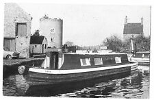 "Narrowboat ""Lark"" PPC, Wolverhampton 1973 PMK, excellent and Unusual image"