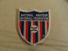PATCH SPORTS NATIONAL AMATEUR BASEBALL FEDERATION