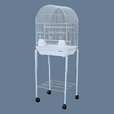 Dome Top Bird Cage with Stand for Canary Cockatiel Parakeets Lovebird Finch