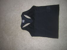 Nike Dri-Fit  Fitness/Exercise TOP Shirt Women's Size Small Black