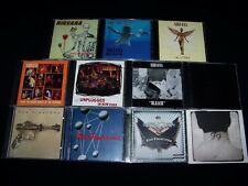 CD Nirvana & Foo Fighters 11 Metal lot CDs Discs Nevermind In Utero + MINT CASES
