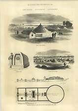1875 Chinese Funeral Customs Coffin Graves Shanghai Peiho Yung-lo