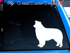 Border Collie - Vinyl Decal Sticker / Color Choice -  HIGH QUALITY