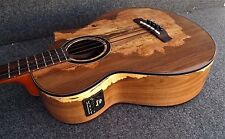 Ibanez AEWB50-NT EXOTIC WOOD Acoustic-Electric Bass Guitar Fishman Pickup