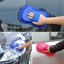 Microfiber Chenille Auto Car Vehicle Care Washing Brush Sponge Pad Cleaning Tool