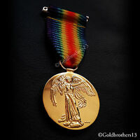 VICTORY MEDAL THE GREAT WAR FOR CIVILISATION 1914-1919 WW1 BRITISH NEW COPY