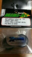 xpawdfvs1.5 front very soft foam tire miniz xpower pair
