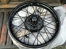 VIntage Classic Wheels Restoration - Austin 7 Ruby Chummy Box Ulster Special