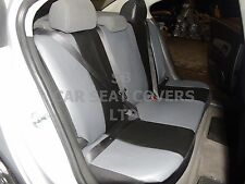 i - TO FIT A TOYOTA STARLET CAR, S/ COVERS, ARTIFICIAL LEATHER, BLACK 59.99