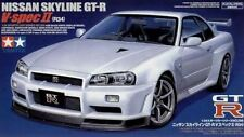 Tamiya 1/24 Nissan Skyline GT-R V-Spec II Plastic Model Kit #24258