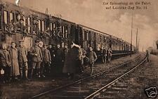 14385/ Foto AK, Zur Erinnerung an die Fahrt auf Leichtkr.-Zug No. 14
