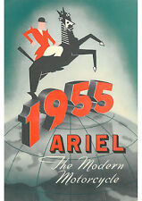 1955 Ariel motorcycles poster