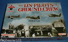 REDBOX 72053 WW2 IMPERIAL JAPANESE NAVY (IJN) PILOTS & GROUNDCREW 1/72