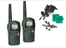 PAIR INTEK MT3030 PMR/LPD VOX WHIT CHARGER + EAR MIC  WALKIE TALKIE  MAX. 12 KM