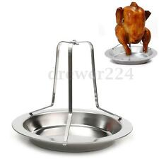 Beer Can Chicken Duck Holder Rack Grill Oven Stand Roasting Rack for BBQ Rib
