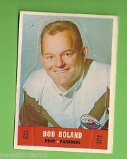 #D177. 1969 SCANLENS RUGBY LEAGUE DIECUT CARD - BOB BOLAND, PANTHERS
