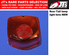 REAR TAIL LIGHT LENS BACK BRAKE LAMP LENS to suit HONDA CB125T 78-81 AFTERMARKET