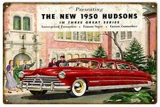 Reproduction 1950 Hudson Classic Automobile Sign