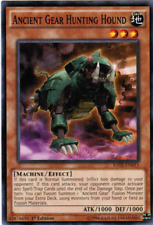 3X Ancient Gear Hunting Hound -Common -RATE-EN013-NM-Yugioh Raging Tempest