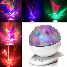 Aurora Borealis Night Light Projector Mood Lighting Lamp Color Changing Party...