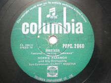 "THE TARRIERS POPC 2060 INDIA INDIAN RARE 78 RPM RECORD 10"" GREEN VG-"