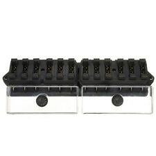 12V/24V Universal Car Truck 12 Way Circuit Standard Blade Fuse Box Holder Block
