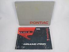Pontiac Grand Prix 1995 95 Owners Manual Set Case Book OEM Free Shipping