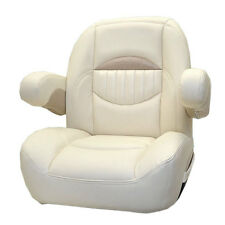 SWEETWATER NAPA VINYL NON RECLINING PONTOON BOAT CAPTAINS SEAT CHAIR 766281