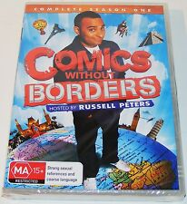 COMICS WITHOUT BORDERS--Complete First Season ---(New & Sealed Dvd 2 Disc Set)