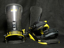 Union -  Charger snowboard bindings 2014/2015 - Black/Yellow L/XL (10.5-14)