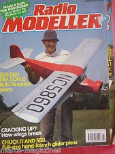 RADIO MODELLER AIRCRAFT MARCH 1990 MILLI KEMA SERIES 2 PLAN PHILIP KENT