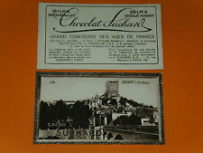 CHROMO PHOTO CHOCOLAT SUCHARD 1928 FRANCE CREST DROME