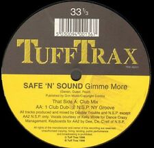 SAFE'N'SOUND - Gimme More - 1996 Tuff Trax Uk - TRX 00201
