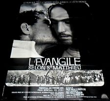 1964 The Gospel According to St. Matthew ORIGINAL FR POSTER Pier Paolo Pasolini